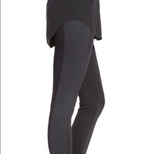 Spanx Textured Side Panel Leggings